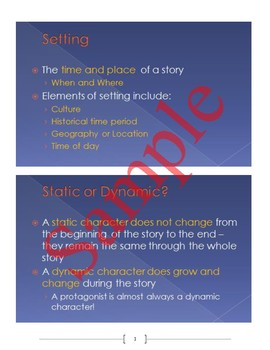 Introduction to Fiction Short Stories Unit (ELL adapted)