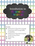 Introduction to Figurative Language