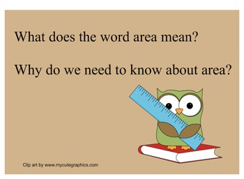 Introduction to Finding Area