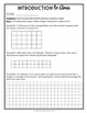 Introduction to Finding Area, 3rd - 4th Grade Area of Rectangles Practice Packet