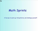 Introduction to Fluency and Sprints