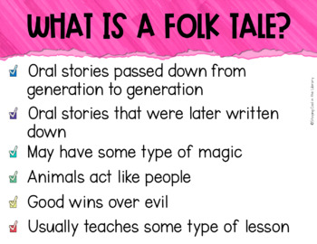 Folktales PowerPoint Introduction