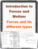 Introduction to Forces: Forces and its Different Types LESSON