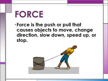 Introduction to Forces and Free Body Diagrams Power Point