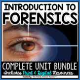 Introduction to Forensics -Complete 10-Week Unit (Distance Learning Compatible)