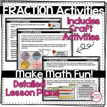 Introduction to Fractions Mini Unit
