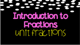 Introduction to Fractions Book- Unit Fractions MGSE3.NF.1