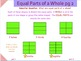 Introduction to Fractions pt 1 - A Common Core Interactive Mimio Lesson