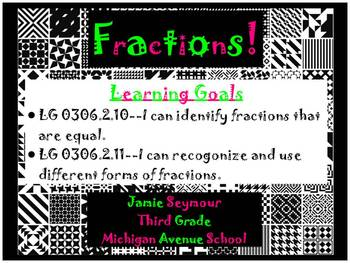 Introduction to Fractions FREEBIE Flipchart