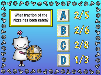 Introduction to Fractions / Identifying Fractions SMART Notebook Lesson