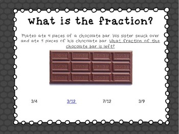 Introduction to Fractions Interactive PowerPont