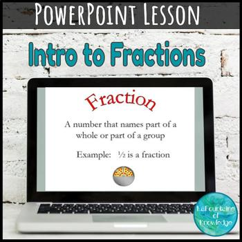 Introduction to Fractions PowerPoint