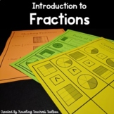Introduction to Fractions - Third Grade Common Core Aligned