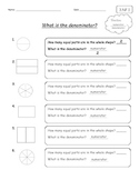 Introduction to Fractions - What is a denominator and a nu