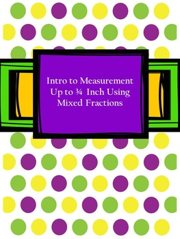 Introduction to Fractions and Measurement Unit