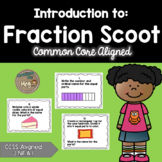Introduction to Fractions Task Cards for Third Grade
