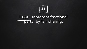 Introduction to Fractions including Equivalent Fractions (Presentation)