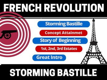 Storming of the Bastille Lesson