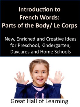 Introduction to French Words:  Body Parts