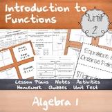 Introduction to Functions - Unit 2 - Algebra 1