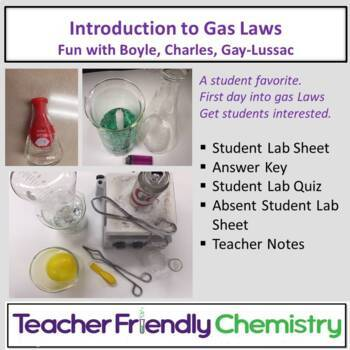 Chemistry Lab: Introduction to Gas Laws
