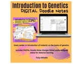 Introduction to Genetics Doodle Notes