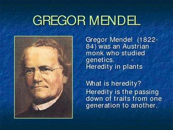 Introduction to Genetics: Gregor Mendel