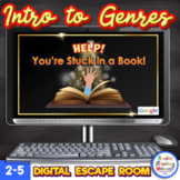 Introduction to Genres - Digital Escape Room for Distance