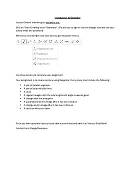 Introduction to Geogebra