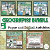 Introduction to Geography Bundle {Digital AND Paper}