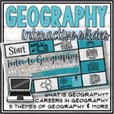 Introduction to Geography Interactive Google Slides