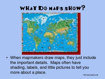 Introduction to Geography Maps Globes PowerPoint