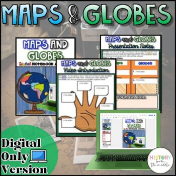 Maps and Globes {Google Drive}