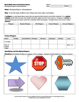 Introduction to Geometric Shapes