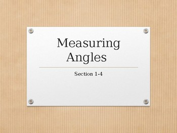 Introduction to Geometry: Angles & Angle Measurements