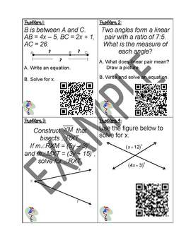Differentiated Activity - Angle and Segment Measurements