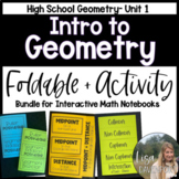 Introduction to Geometry (Geometry Foldable Bundle #1)