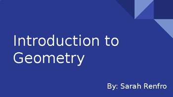 Introduction to Geometry Slideshow