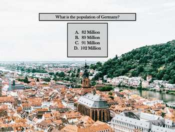 Introduction to Germany Quiz