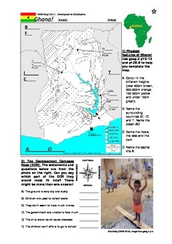 Introduction to Ghana: Map & DCR
