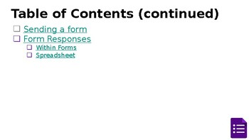 Introduction to Google Forms