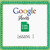 Google Sheets Lessons - Lesson 1 - Introduction to Google Sheets