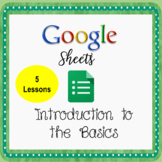 Google Sheets Lessons - Introduction to The Basics - Dista