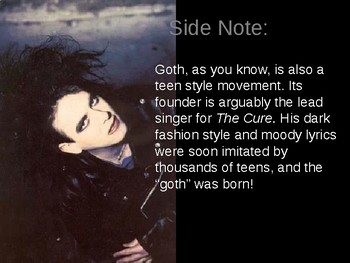 Introduction to Gothic Literature PowerPoint