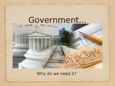 Introduction to Government PowerPoint: Why do we need governments??