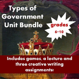 Introduction to Government Unit Bundle