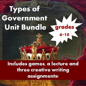 Introduction to Government Unit Bundle