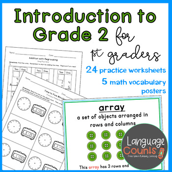 Introduction to Grade 2 Topics- 1st Grade