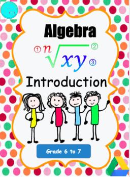 Introduction to Grade 7 Algebra