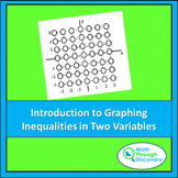 Algebra 1 - Introduction to Graphing Inequalities in Two V